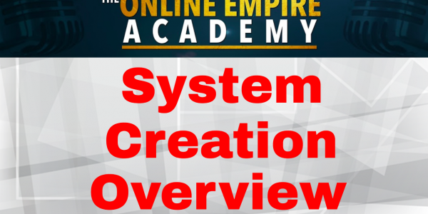 Outsourcing Systems Training